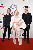 LONDON, UK. December 3, 2016: Clean Bandit at the Jingle Bell Ball 2016 at the O2 Arena, Greenwich, London.<br /> Picture: Steve Vas/Featureflash/SilverHub 0208 004 5359/ 07711 972644 Editors@silverhubmedia.com