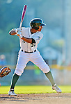 30 June 2012: Vermont Lake Monsters infielder Christopher Bostick in action against the Lowell Spinners at Centennial Field in Burlington, Vermont. Mandatory Credit: Ed Wolfstein Photo
