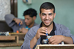 A student in an electronics class in the Vocational Training Center in Khan Yunis, Gaza. The center is sponsored by the Department of Service for Palestinian Refugees of the Near East Council of Churches, and funded in part by the Pontifical Mission for Palestine. DSPR is a member of the ACT Alliance.