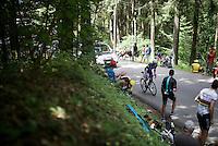 Iljo Keisse (BEL/Etixx-QuickStep)<br /> <br /> Stage 18 (ITT) - Sallanches &rsaquo; Meg&egrave;ve (17km)<br /> 103rd Tour de France 2016