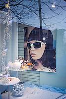 Store window on College Street, Toronto. 2008. Nikon F90