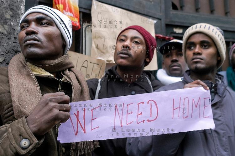 Profughi e rifugiati di via Lecco. We need home