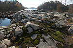 Rocks, catawba River