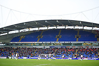 BOLTON, ENGLAND - Saturday, January 26, 2013: Empty seats as Bolton Wanderers take on Everton during the FA Cup 4th Round match at the Reebok Stadium. (Pic by David Rawcliffe/Propaganda)