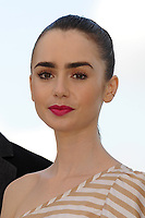 Lily Collins at the Photocall &laquo;OKJA` - 70th Cannes Film Festival on May 19, 2017 in Cannes, France.<br /> CAP/LAF<br /> &copy;Lafitte/Capital Pictures<br /> Lily Collins at the Photocall &acute;OKJA` - 70th Cannes Film Festival on May 19, 2017 in Cannes, France.<br /> CAP/LAF<br /> &copy;Lafitte/Capital Pictures /MediaPunch ***NORTH AND SOUTH AMERICAS, CANADA and MEXICO ONLY***