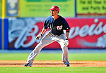 7 March 2010: Washington Nationals' outfielder Jerry Owens in action during a Spring Training game against the New York Mets at Tradition Field in Port St. Lucie, Florida. The Mets edged out the Nationals 6-5 in Grapefruit League pre-season play. Mandatory Credit: Ed Wolfstein Photo