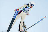CLAIR Julia of France competes during 11th Women FIS Ski Jumping World Cup competition in Planica replacing Ljubno  on January 25, 2014 at HS95, Planica, Slovenia. Photo by Vid Ponikvar / Sportida