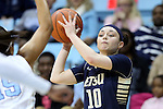 02 January 2015: ETSU's Chandler Christopher (10). The University of North Carolina Tar Heels hosted the East Tennessee State University Buccaneers at Carmichael Arena in Chapel Hill, North Carolina in a 2014-15 NCAA Division I Women's Basketball game. UNC won the game 95-62.