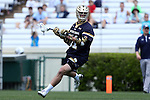 23 April 2016: Notre Dame's Brendan Collins. The University of North Carolina Tar Heels hosted the University of Notre Dame Fighting Irish at Kenan Stadium in Chapel Hill, North Carolina in a 2016 NCAA Division I Men's Lacrosse match. UNC won the game 17-15.