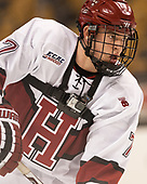 Eddie Ellis (Harvard - 7) - The Harvard University Crimson defeated the Northeastern University Huskies 4-3 in the opening game of the 2017 Beanpot on Monday, February 6, 2017, at TD Garden in Boston, Massachusetts.