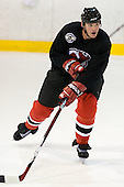Colin White takes part in the  first session on Saturday, September 15, 2007 of the New Jersey Devils training camp on Rink 2 of the Richard E. Codey Arena at South Mountain in West Orange, New Jersey...