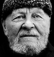 "Yosif Kuchvalsky (born 1913), a Russian veteran of World War II (WW2)..""I come from a good family from White Russia.  My grandfather was a colonel in the Tsar's army.  After the Communists seized power, our family was sent to a labour camp in Archangelsk.  My mother had already fled to her brother's in Moscow.  In 1937 she was found and shot.  My father and I managed to escape from the camp after two attempts."".""When war broke out, I suppressed my negative feelings for the Communist regime.  I chose to fight for my fatherland.  I wasn't fighting for Stalin.  It's Stalin's fault that millions of Russian soldiers were killed.  He had all the talented senior officers executed, so the army wasn't run properly.  Stalin didn't win the war, the people did.""..."
