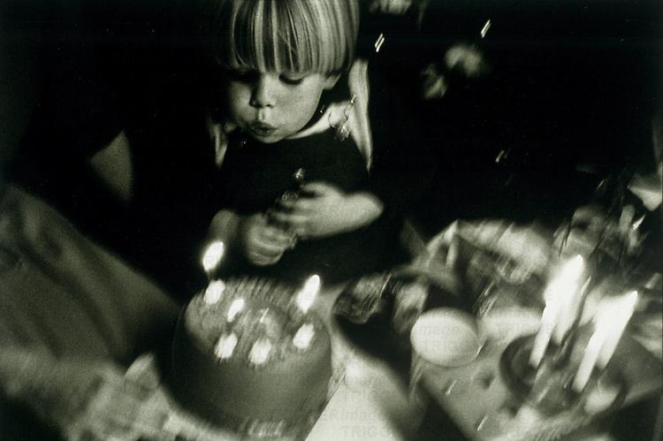 four year old birthday boy