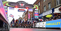 Picture by Alex Broadway/SWpix.com - 18/05/2017 - Cycling - Tour Series Round 5, Croydon - The men's race starts.