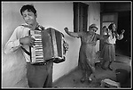 A Gypsy community in Romania who primarily musicians breakout the accordion and celebrate the day.