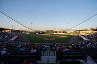 General view of the Florida Fire Frogs inaugural game against the Daytona Tortugas on April 6, 2017 at Osceola County Stadium in Kissimmee, Florida.  Daytona defeated Florida 3-1.  (Mike Janes/Four Seam Images)