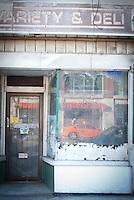 Waiting to gentrify. Bloor Street, Toronto, Ontario. 2014 Nikon D200