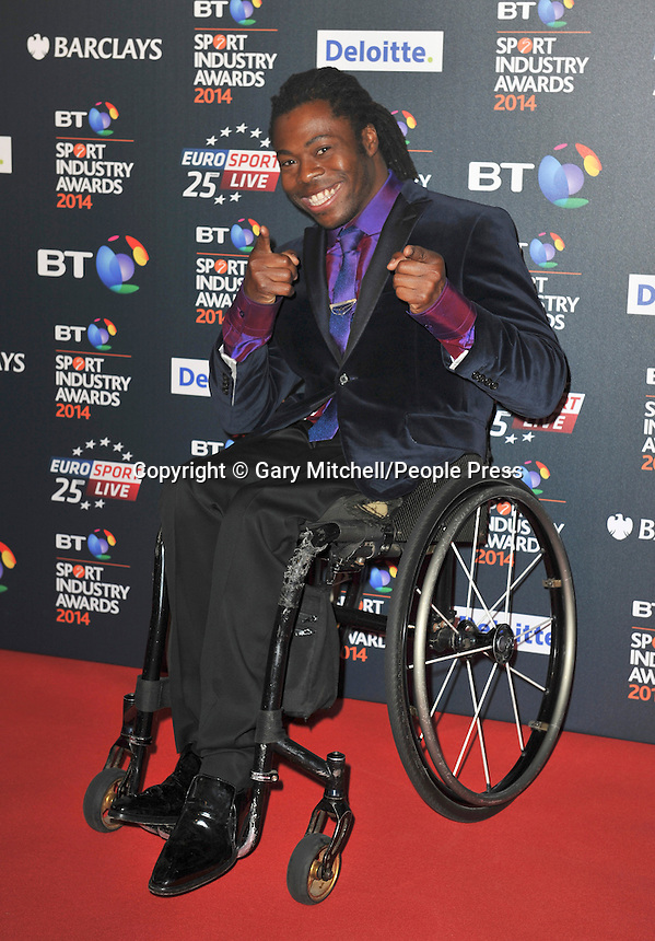 Ade Adepitan attends the BT Sport Industry Awards at Battersea Evolution on May 8, 2014 in London, England