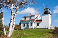 Fort Point Light in Stockton Springs, Maine.