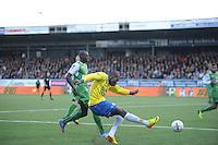 VOETBAL: CAMBUURSTADION: LEEUWARDEN: 03-11-2013, Cambuur-Feyenoord, uitslag 0- 2, Alexander Christovao, ©foto Martin de Jong