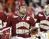 Joe Whitney (BC - 15) - The visiting Boston College Eagles defeated the Boston University Terriers 3-2 to sweep their Hockey East series on Friday, January 21, 2011, at Agganis Arena in Boston, Massachusetts.