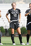 24 August 2008: Carolina's Chelsea Terry. The Duke University Blue Devils defeated the Coastal Carolina University Lady Chanticleers 9-0 at Koskinen Stadium in Durham, North Carolina in an NCAA Division I Women's college soccer game.