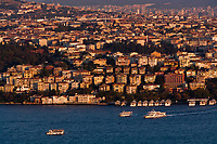 Europe/Turquie/Istanbul :  Rive orientale du Bosphore