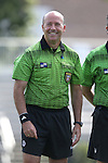 04 September 2016: Referee Bill Dittmar. The University of North Carolina Tar Heels played the Villanova University Wildcats at Koskinen Stadium in Durham, North Carolina in a 2016 NCAA Division I Women's Soccer match. UNC won the game 2-0
