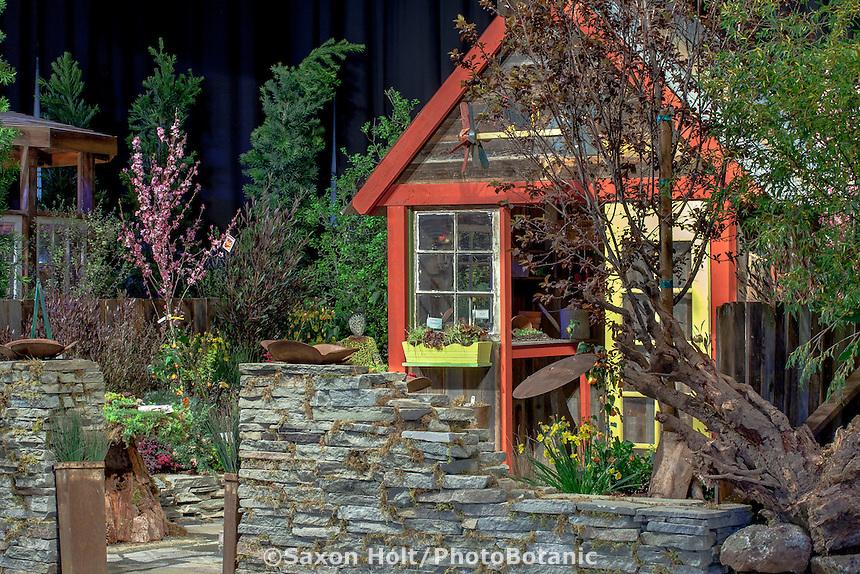 """Growing an Artful Garden"" - garden design by Max & Joanne Nagaele; San Francisco Flower and Garden Show 2015"