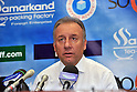 Alberto Zaccheroni (JPN), SEPTEMBER 6, 2011 - Football / Soccer : Japan head coach Alberto Zaccheroni attends a press conference after the FIFA World Cup Brazil 2014 Asian Qualifier Third Round Group C match between Uzbekistan 1-1 Japan at Pakhtakor Markaziy Stadium in Tashkent, Uzbekistan. (Photo by Jinten Sawada/AFLO)..