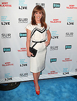 Kathy Griffin .Bravo's Andy Cohen's Book Release Party For &quot;Most Talkative: Stories From The Front Lines Of Pop Held at SUR Lounge, West Hollywood, California, USA..May 14th, 2012.full length black  white dress clutch bag red shoes hand on hip.CAP/ADM/KB.&copy;Kevan Brooks/AdMedia/Capital Pictures.