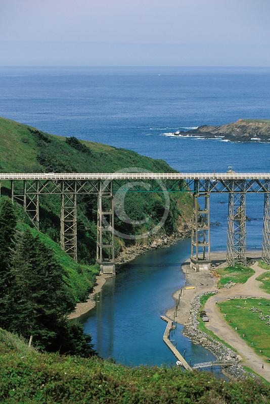 California, Mendocino County, Albion River Bridge