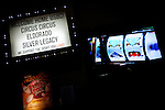 Casino ads at the National Bowling Stadium in Reno, Nevada, July 5, 2012.