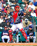 3 March 2010: Atlanta Braves' catcher J.C. Boscan in action during a Grapefruit League game against the New York Mets at Champion Stadium in the ESPN Wide World of Sports Complex in Orlando, Florida. The Braves defeated the Mets 9-5 in the Spring Training matchup. Mandatory Credit: Ed Wolfstein Photo