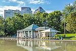 The Frog Pond in Boston Common, Boston, Massachusetts, USA