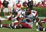 13 October 2007: South Carolina's Larry Freeman. The University of South Carolina Gamecocks defeated the University of North Carolina Tar Heels 21-15 at Kenan Stadium in Chapel Hill, North Carolina in an NCAA College Football Division I game.