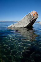 """Boulders on Lake Tahoe 24"" - These boulders were photographed in the morning near Speedboat Beach, Lake Tahoe."