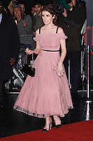 LONDON, UK. October 17, 2016: Anna Kendrick at the premiere of &quot;The Accountant&quot; at the Empire Leicester Square, London.<br /> Picture: Steve Vas/Featureflash/SilverHub 0208 004 5359/ 07711 972644 Editors@silverhubmedia.com