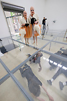 57th Art Biennale in Venice - Viva Arte Viva. Giardini.<br /> German Pavillion.<br /> Anne Imhof: Faust<br /> EVA &amp; ADELE
