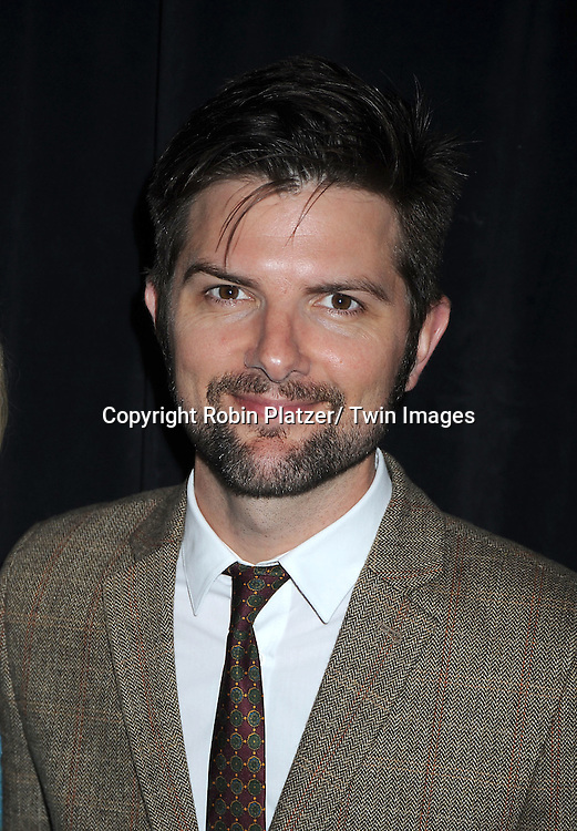 Adam Scott attends the 71st Annual Peabody Awards at the Waldorf Astoria Hotel in New York City on May 21, 2012.