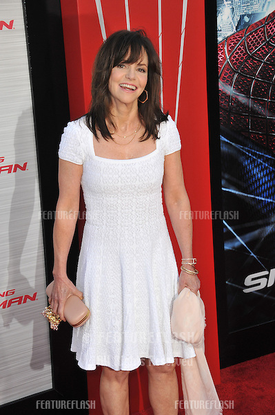 """Sally Field at the world premiere of her movie """"The Amazing Spider-Man"""" at Regency Village Theatre, Westwood..June 29, 2012  Los Angeles, CA.Picture: Paul Smith / Featureflash"""