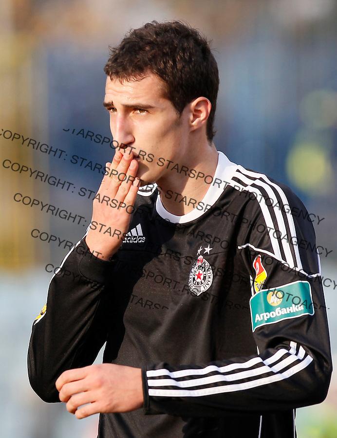 Fudbal, Jelen super liga, sezona 2010/2011.BSK Borca Vs. Partizan.Radosav Petrovic.Beograd, 08.11.2010..foto: Srdjan Stevanovic/Starsportphoto ©