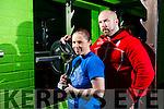 Local woman  Danielle O'Sullivan comes 4th in World Power Lifting Championships in Riva del Garda Italy here with trainer David Nelligan