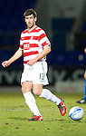 St Johnstone v Hamilton Accies....02.02.11  .New Accies signing Mark Carrington.Picture by Graeme Hart..Copyright Perthshire Picture Agency.Tel: 01738 623350  Mobile: 07990 594431
