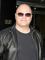 NEW YORK, NY - OCTOBER 19:  Michael Chiklis spotted leaving a taping of the 'Harry' show where he promoted the television series 'Gotham'  in New York, New York on October 19, 2016.  Photo Credit: Rainmaker Photo/MediaPunch
