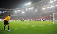 FUSSBALL   EUROPA LEAGUE   SAISON 2012/2013    VfB Stuttgart - FC Kopenhagen   25.10.2012 Additional Assistant Schiedsrichter Carlos Xistra (Portugal)  beobachtet das Spiel