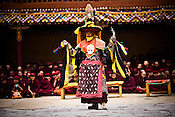 "Dancers perform at the Hemis Monastery (gompa) of the Drukpa Lineage, located in Hemis, 45 kms away from Leh in Ladakh. ..His Holiness the Twelfth Gyalwang Drukpa, the head of the Drukpa Lineage (proponents of the Mahayana Buddhist tradition) ended his ""Walking On The World's Rooftop"" Pad Yatra from Manali to Hemis Monestary in Ladakh."