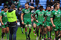 Ultan Dillane of Connacht looks dejected after the match. European Rugby Champions Cup match, between Wasps and Connacht Rugby on December 11, 2016 at the Ricoh Arena in Coventry, England. Photo by: Patrick Khachfe / JMP
