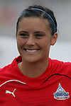 20 June 2009: Ali Krieger (27) of the Washington Freedom.  Saint Louis Athletica were defeated by the visiting Washington Freedom  0-1 in a regular season Women's Professional Soccer game at AB Soccer Park, in Fenton, MO.