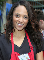 LOS ANGELES, CA - April 14: Sal Stowers, At Los Angeles Mission's Easter Celebration For The Homeless At Los Angeles Mission  In California on April 14, 2017. <br /> CAP/MPI/FS<br /> &copy;FS/MPI/Capital Pictures